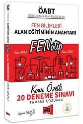 Yargı Yayınları - Yargı Yayınları ÖABT Fen Bilimleri FENOTİP Konu Özetli Tamamı Çözümlü 20 Deneme Sınavı
