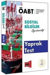 Yargı Yayınları - Yargı Yayınları ÖABT LİMAN Sosyal Bilgiler Öğretmenliği Yaprak Test