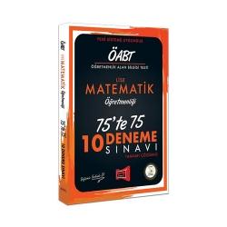Yargı Yayınevi - Yargı Yayınları ÖABT Lise Matematik Öğretmenliği 75'te 75 10 Deneme Sınavı
