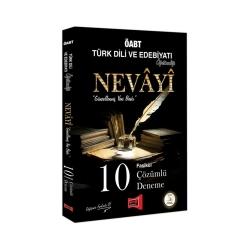 Yargı Yayınevi - Yargı Yayınları ÖABT NEVAYİ Türk Dili ve Edebiyatı Öğretmenliği 10 Fasikül Çözümlü Deneme