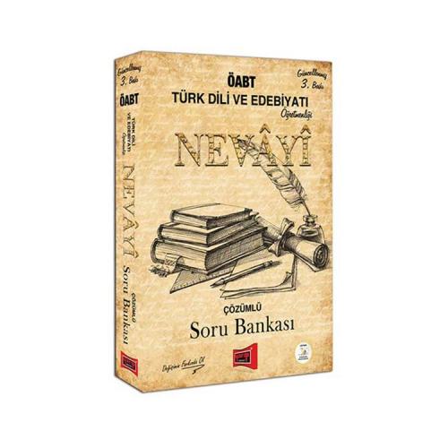 Yargı Yayınları ÖABT NEVAYİ Türk Dili ve Edebiyatı Öğretmenliği Çözümlü Soru Bankası 3. Baskı