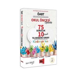 Yargı Yayınları - Yargı Yayınları ÖABT Okul Öncesi Öğretmenliği 75 Soruluk Çözümlü 10 TG Deneme Sınavı
