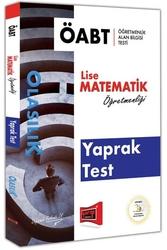 Yargı Yayınları - Yargı Yayınları ÖABT OLASILIK Lise Matematik Öğretmenliği Yaprak Test