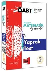 Yargı Yayınları - Yargı Yayınları ÖABT RASYONEL İlköğretim Matematik Öğretmenliği Yaprak Test