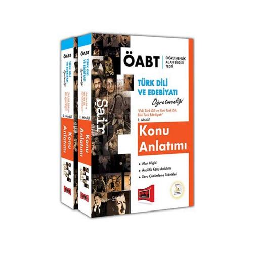 Yargı Yayınları ÖABT ŞAİR Türk Dili ve Edebiyatı Öğretmenliği Konu Anlatımı