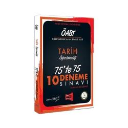 Yargı Yayınevi - Yargı Yayınları ÖABT Tarih Öğretmenliği 75'te 75 10 Deneme Sınavı