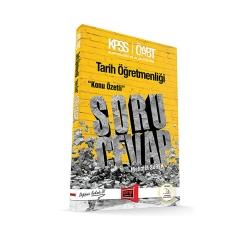 Yargı Yayınevi - Yargı Yayınları ÖABT Tarih Öğretmenliği Konu Özetli Soru Cevap Kitabı