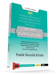 Yargı Yayınevi - Yargı Yayınları SPK Yatırım Kuruluşları Pratik Hazırlık Kitabı