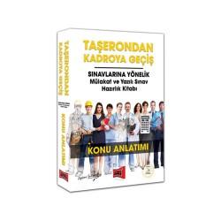 Yargı Yayınevi - Yargı Yayınları Taşerondan Kadroya Geçiş Sınavlarına Yönelik Mülakat ve Yazılı Sınav Hazırlık Kitabı Konu Anlatımı