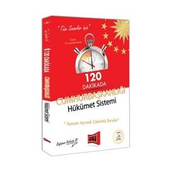 Yargı Yayınevi - Yargı Yayınları Tüm Sınavlar İçin 120 Dakikada Cumhurbaşkanlığı Hükümet Sistemi Tamamı Ayrıntılı Çözümlü Sorular