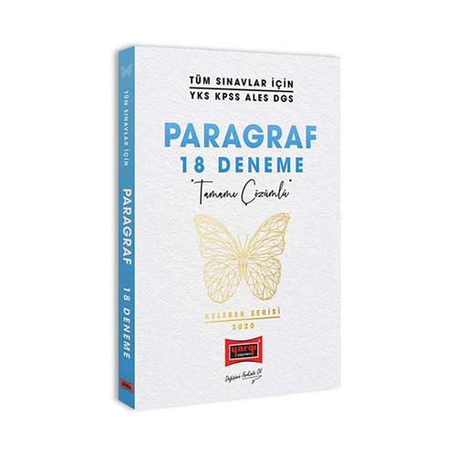 Yargı Yayınları Tüm Sınavlar İçin Kelebek Serisi Muhteşem Paragraf Soru Deneme Seti