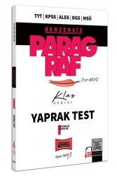 Yargı Yayınları - Yargı Yayınları TYT KPSS ALES DGS MSÜ Benzersiz Paragraf Klas Serisi Tamamı Çözümlü Yaprak Test