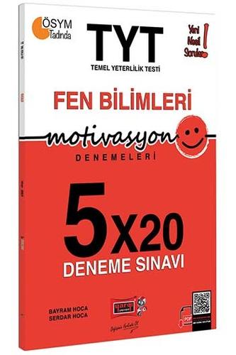 Yargı Yayınları TYT Motivasyon Fen Bilimleri 5×20 Deneme Sınavı