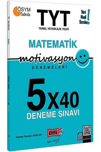 Yargı Yayınları TYT Motivasyon Matematik 5×40 Deneme Sınavı + HEDİYELİ