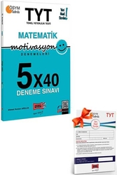 Yargı Yayınları - Yargı Yayınları TYT Motivasyon Matematik 5×40 Deneme Sınavı + HEDİYELİ