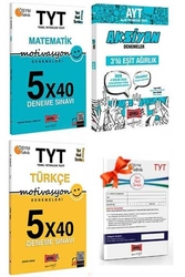 Yargı Yayınları - Yargı Yayınları TYT Motivasyon Matematik Türkçe ve AYT Eşit Ağırlık Aksiyon Deneme Seti + HEDİYELİ