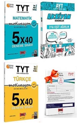 Yargı Yayınları TYT Motivasyon Matematik Türkçe ve AYT Eşit Ağırlık Aksiyon Deneme Seti + HEDİYELİ