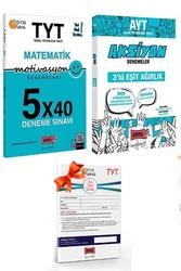 Yargı Yayınları - Yargı Yayınları TYT Motivasyon Matematik ve AYT Eşit Ağırlık Aksiyon Deneme Seti + HEDİYELİ
