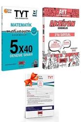Yargı Yayınları - Yargı Yayınları TYT Motivasyon Matematik ve AYT Sayısal Aksiyon Deneme Seti + HEDİYELİ