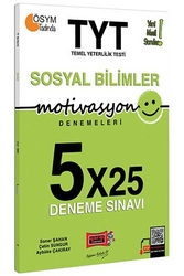 Yargı Yayınları - Yargı Yayınları TYT Motivasyon Sosyal Bilimler 5×25 Deneme Sınavı