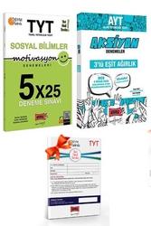 Yargı Yayınları - Yargı Yayınları TYT Motivasyon Sosyal Bilimler ve AYT Eşit Ağırlık Aksiyon Deneme Seti + HEDİYELİ