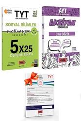 Yargı Yayınları - Yargı Yayınları TYT Motivasyon Sosyal Bilimler ve AYT Sözel Aksiyon Deneme Seti + HEDİYELİ
