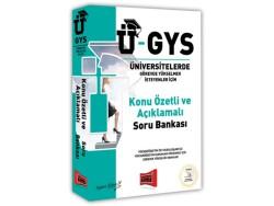 Yargı Yayınevi - Yargı Yayınları Ü-GYS Konu Özetli Açıklamalı Soru Bankası
