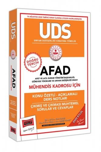 Yargı Yayınları UDS AFAD Mühendis Kadrosu İçin Konu Özetli Çıkmış ve Çıkması Muhtemel Sorular