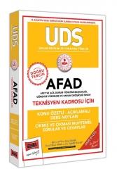 Yargı Yayınları - Yargı Yayınları UDS AFAD Teknisyen Kadrosu İçin Konu Özetli Çıkmış ve Çıkması Muhtemel Sorular