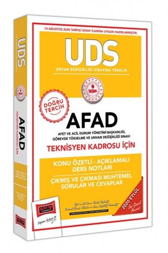 Yargı Yayınları UDS AFAD Teknisyen Kadrosu İçin Konu Özetli Çıkmış ve Çıkması Muhtemel Sorular
