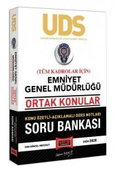 Yargı Yayınları - Yargı Yayınları UDS Emniyet Genel Müdürlüğü Ortak Konular Tüm Kadrolar İçin Konu Özetli Soru Bankası