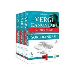 Yargı Yayınevi - Yargı Yayınları Vergi Kanunları ve Mevzuatı Konu Anlatımı ve Soru Bankası 3 Kitap 5. Baskı