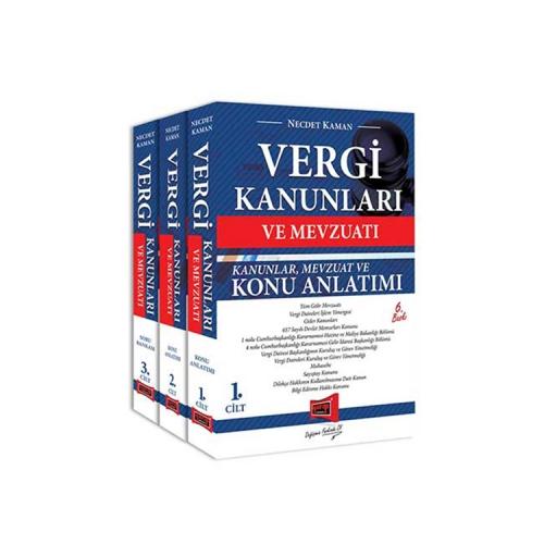 Yargı Yayınları Vergi Kanunları ve Mevzuatı Konu Anlatımı ve Soru Bankası 3 Kitap 6. Baskı