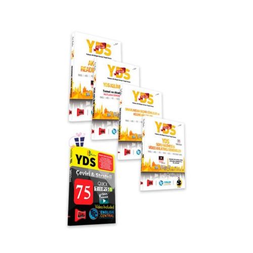 Yargı Yayınları YDS Altın Seri Kazandıran Set + HEDİYELİ