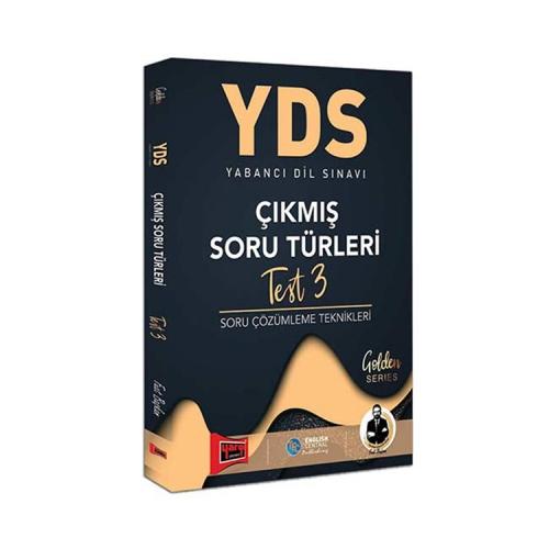 Yargı Yayınları YDS Çıkmış Soru Türleri Test 3 Soru Çözümleme Teknikleri