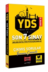 Yargı Yayınları - Yargı Yayınları YDS Son 7 Sınav Tamamı Çözümlü Çıkmış Sorular