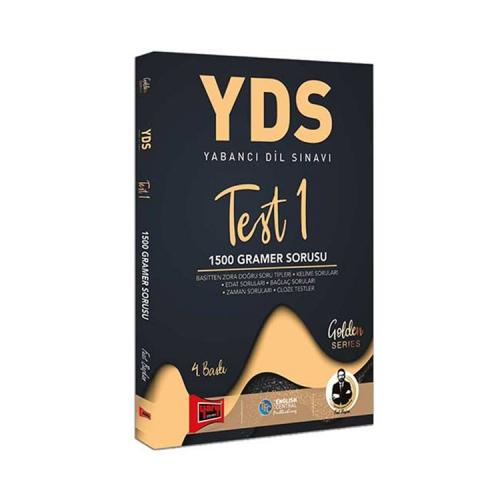 Yargı Yayınları YDS Test 1 1500 Gramer Sorusu