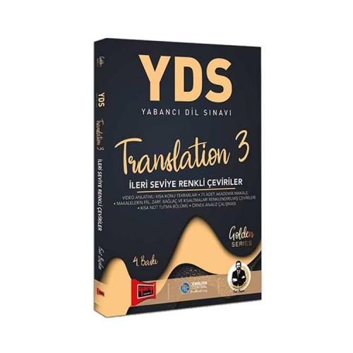 Yargı Yayınları YDS Translation 3 İleri Seviye Renkli Çeviriler