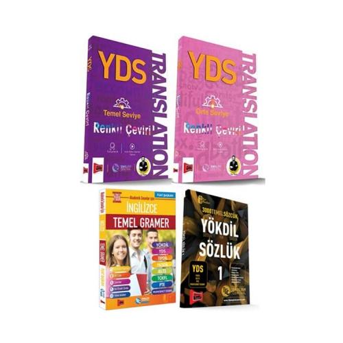 Yargı Yayınları YDS Translation Seti