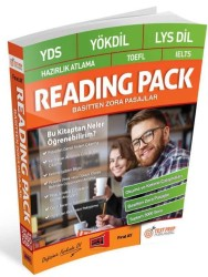 Yargı Yayınevi - Yargı Yayınları YDS YÖKDİL LYS DİL Hazırlık Atlama TOEFL IELTS Reading Pack Basitten Zora Pasajlar