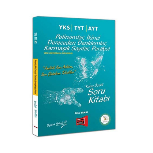 Yargı Yayınları YKS TYT AYT Polinomlar, İkinci Dereceden Denklemler, Karmaşık Sayılar, Parabol Konu Özetli Soru Kitabı