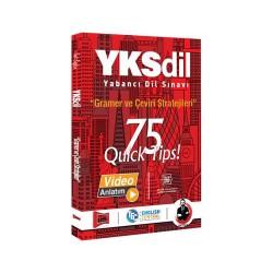 Yargı Yayınları - Yargı Yayınları YKSDİL Gramer ve Çeviri Stratejileri 75 QUİCK TIPS