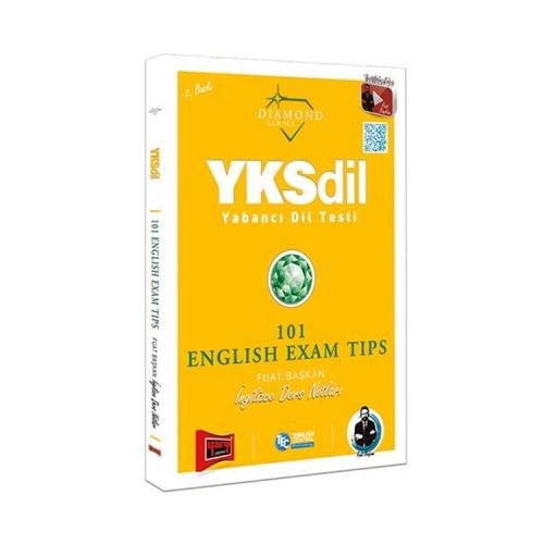Yargı Yayınları YKSDİL Yabancı Dil Testi 101 English Exam Tips Diamond Series