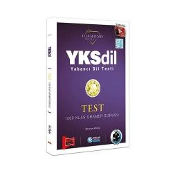 Yargı Yayınevi - Yargı Yayınları YKSDİL Yabancı Dil Testi 1200 Klas Gramer Sorusu Diamond Series