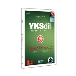 Yargı Yayınevi - Yargı Yayınları YKSDİL Yabancı Dil Testi Grammar 2 Az ve Öz Gramer