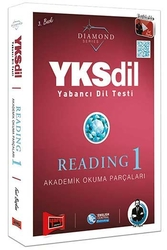 Yargı Yayınları - Yargı Yayınları YKSDİL Yabancı Dil Testi Reading-1 Diamond Series