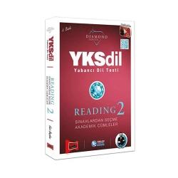 Yargı Yayınevi - Yargı Yayınları YKSDİL Yabancı Dil Testi Reading-2 Diamond Series
