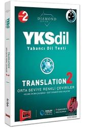 Yargı Yayınları - Yargı Yayınları YKSDİL Yabancı Dil Testi Translation 2 Orta Seviye Renkli Çeviriler