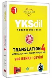 Yargı Yayınları - Yargı Yayınları YKSDİL Yabancı Dil Testi Translation 4 Video Anlatımlı Okuma Parçaları