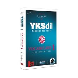 Yargı Yayınevi - Yargı Yayınları YKSDİL Yabancı Dil Testi Vocabulary-1 Diamond Series